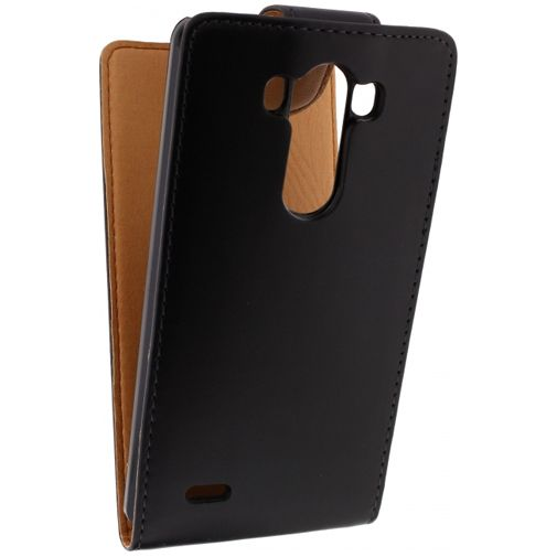 Xccess Leather Flip Case Black LG G3