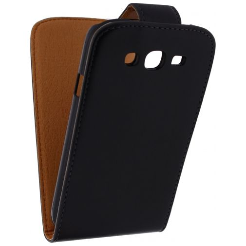 Xccess Leather Flip Case Black Samsung Galaxy Grand Neo (Plus)