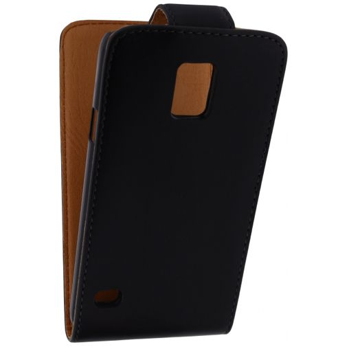 Xccess Leather Flip Case Black Samsung Galaxy S5/S5 Plus/S5 Neo