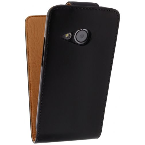 Xccess Leather Flip Case HTC One Mini 2 Black