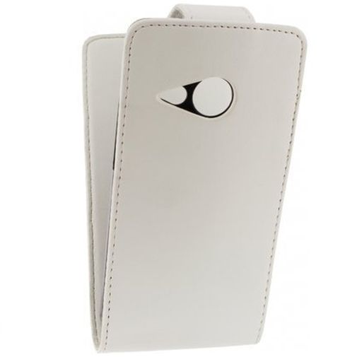 Xccess Leather Flip Case HTC One Mini 2 White