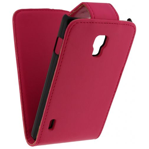 Xccess Leather Flip Case LG Optimus L7 II Pink
