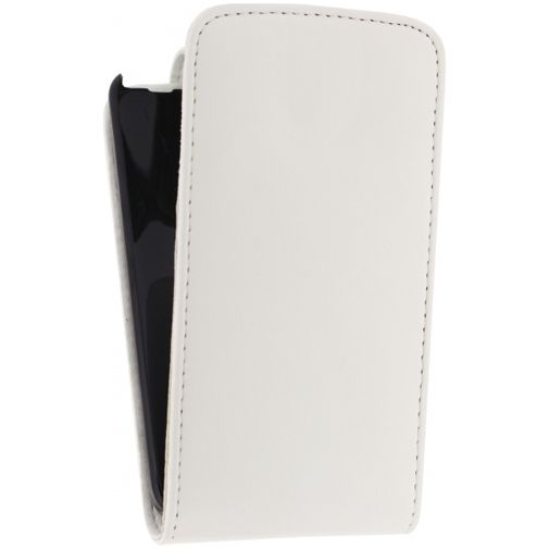 Xccess Leather Flip Case Nokia Lumia 630/635 White