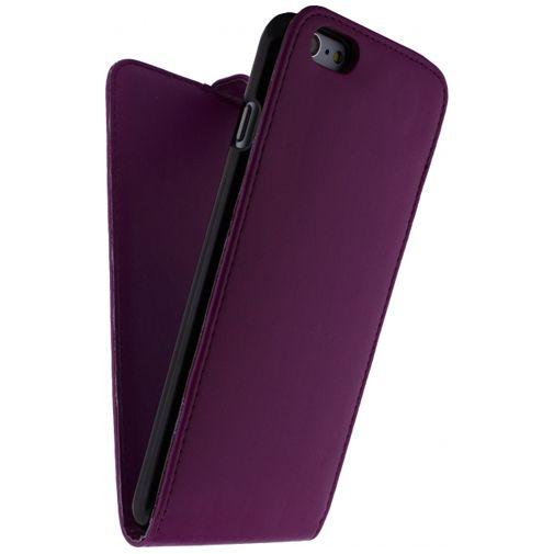 Xccess Leather Flip Case Purple Apple iPhone 6 Plus/6S Plus