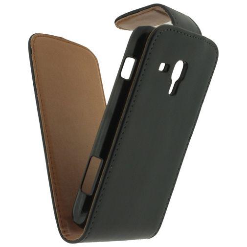 Productafbeelding van de Xccess Leather Flip Case Samsung Galaxy S Duos