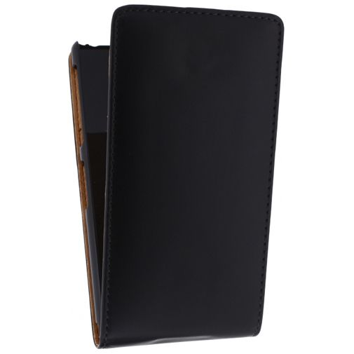 Xccess Leather Flip Case Sony Xperia Z2 Black