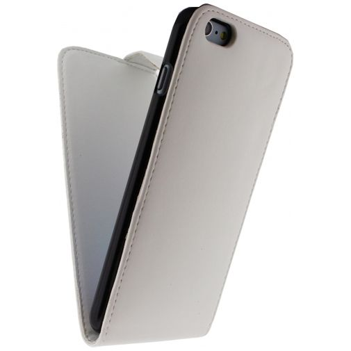 Xccess Leather Flip Case White Apple iPhone 6 Plus/6S Plus