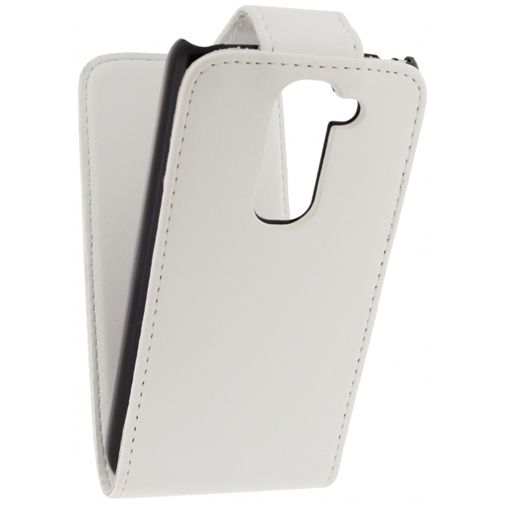 Xccess Leather Flip Case White LG G2 Mini