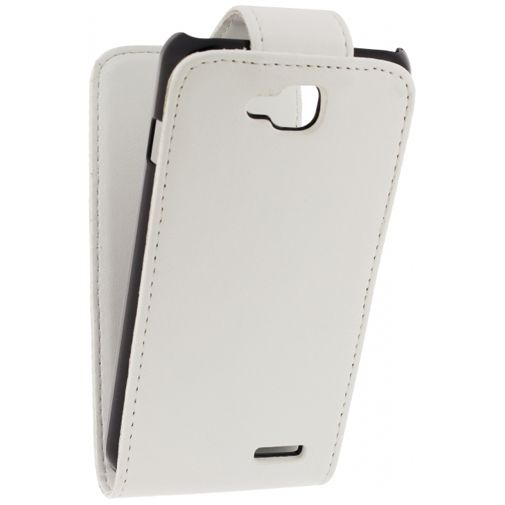 Xccess Leather Flip Case White LG L90