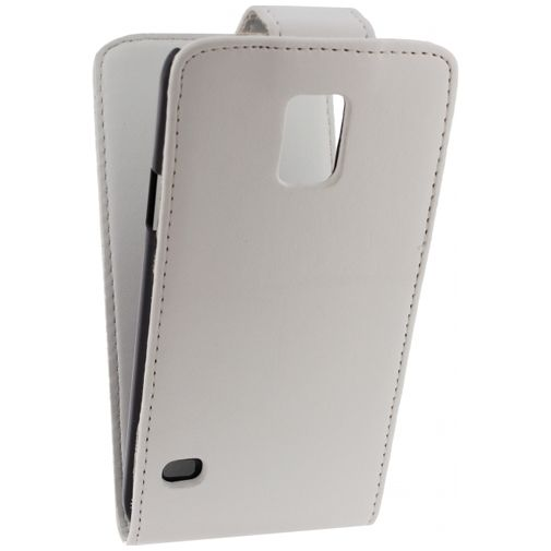 Xccess Leather Flip Case White Samsung Galaxy S5/S5 Plus/S5 Neo