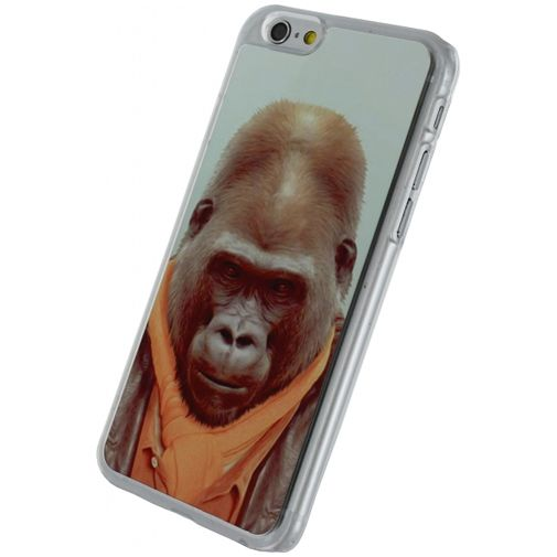 Xccess Metal Plate Cover Funny Gorilla Apple iPhone 6/6S