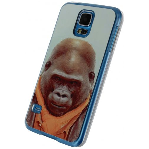 Xccess Metal Plate Cover Funny Gorilla Samsung Galaxy S5/S5 Plus/S5 Neo