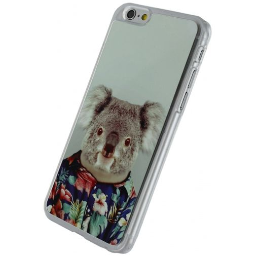 Xccess Metal Plate Cover Funny Koala Apple iPhone 6/6S