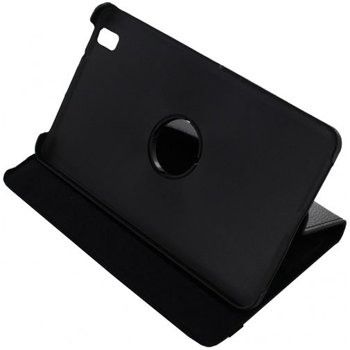 Xccess Rotating Leather Stand Case Black Samsung Galaxy Tab Pro 8.4