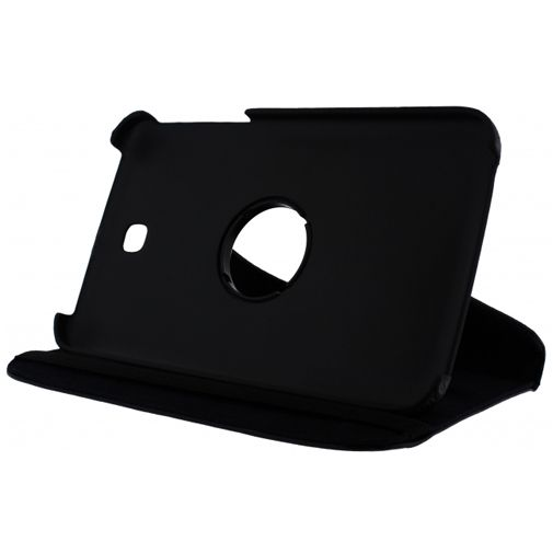 Xccess Rotating Leather Stand Case Samsung Galaxy Tab 3 7.0 Black