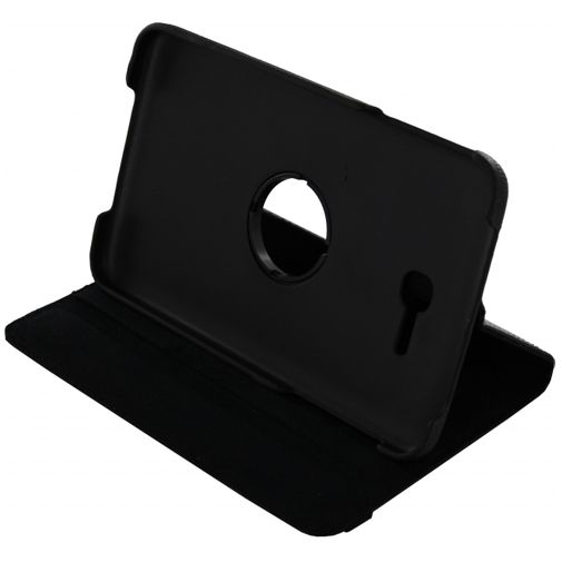 Xccess Rotating Leather Stand Case Samsung Galaxy Tab 3 7.0 Lite Black
