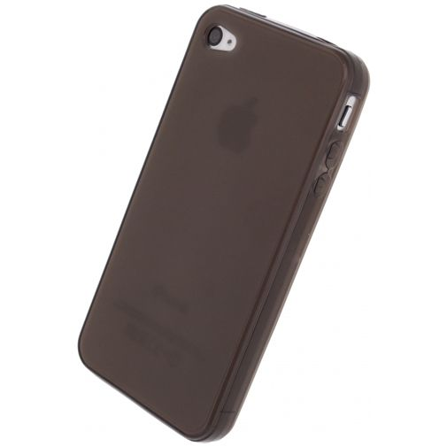 Xccess TPU Case Transparent Black Apple iPhone 4/4S