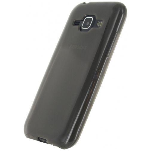 Xccess TPU Case Transparent Black Samsung Galaxy J1