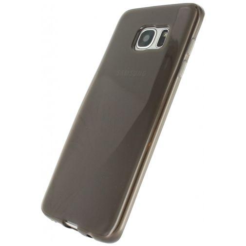Productafbeelding van de Xccess TPU Case Transparent Black Samsung Galaxy S7 Edge