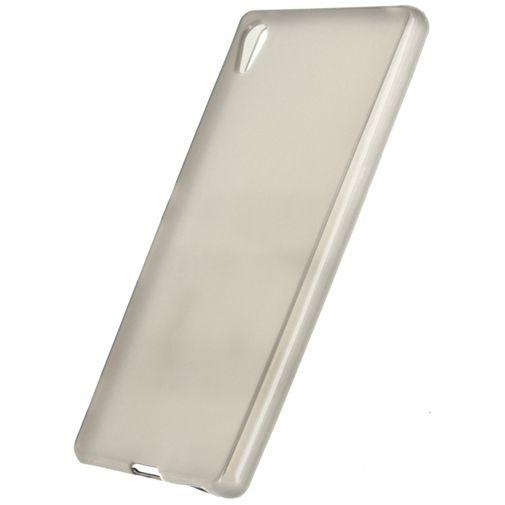 Xccess TPU Case Transparent Black Sony Xperia Z3 Plus
