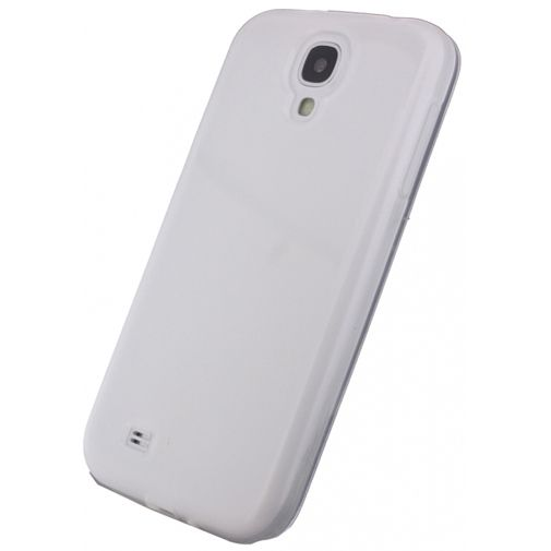 Xccess TPU Case Transparent White Samsung Galaxy S4