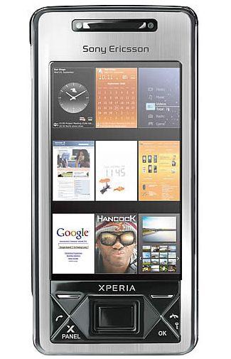 Sony Ericsson Xperia X1 Silver