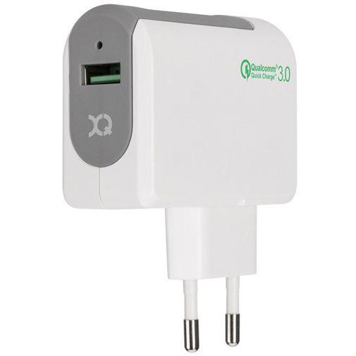 Xqisit Snelle Thuislader Qualcomm 3.0 USB White