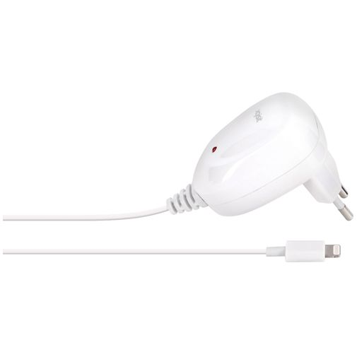 Xqisit Thuislader Apple Lightning 2.4A White