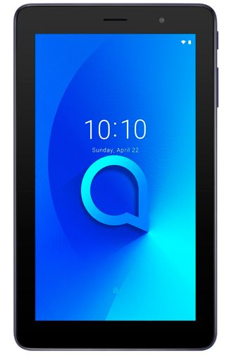 Productafbeelding van de Alcatel 1T 7 16GB Black + Bumper Blue