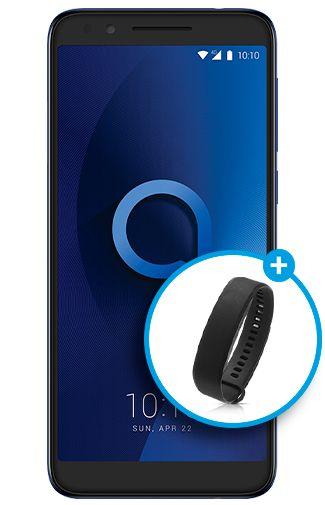 Afbeelding van Alcatel 3L Blue mobiele telefoon