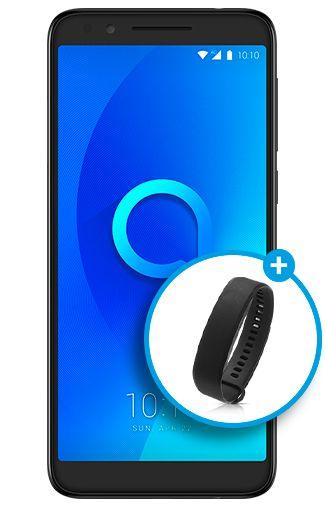 Afbeelding van Alcatel 3L Black mobiele telefoon