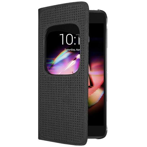 Alcatel Matrix Flip Case Black IDOL 4/4 Plus