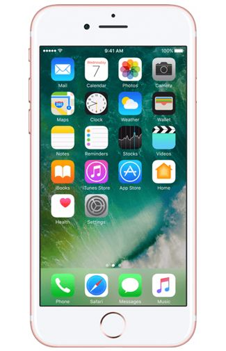 Productafbeelding van de Apple iPhone 7 128GB Rose Gold Refurbished