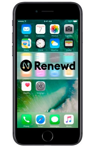 Productafbeelding van de Apple iPhone 7 256GB Black Refurbished