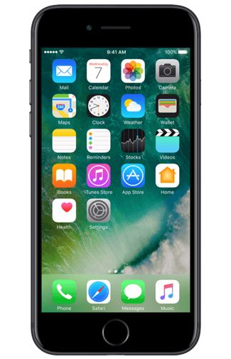 Productafbeelding van de Apple iPhone 7 32GB Black Refurbished