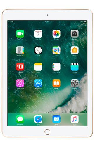 Productafbeelding van de Apple iPad 2018 WiFi + 4G 128GB Gold