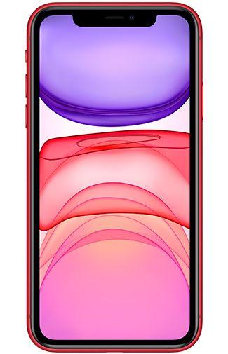 Productafbeelding van de Apple iPhone 11 128GB Red