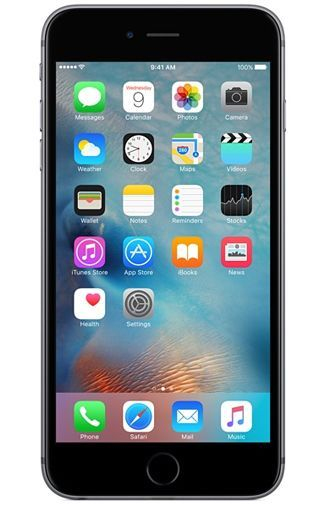 Productafbeelding van de Apple iPhone 6S 128GB Black Refurbished