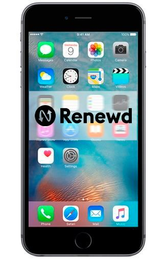 Productafbeelding van de Apple iPhone 6S 32GB Black Refurbished