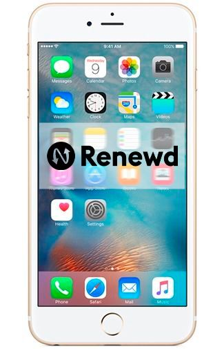 Productafbeelding van de Apple iPhone 6S Plus 64GB Gold Refurbished