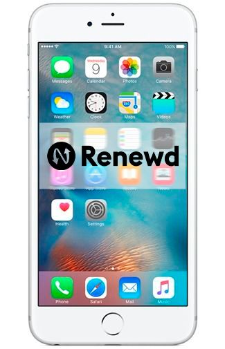 Productafbeelding van de Apple iPhone 6S Plus 64GB Silver Refurbished