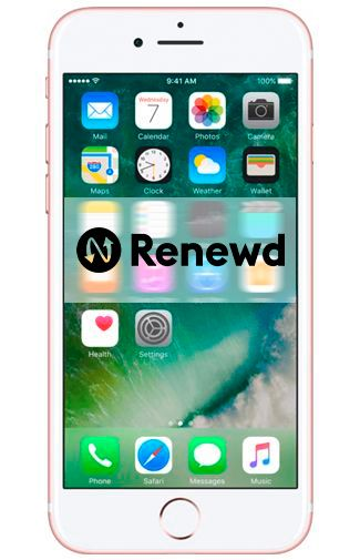 Productafbeelding van de Apple iPhone 7 Plus 128GB Rose Gold Refurbished