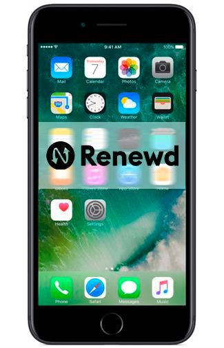 Productafbeelding van de Apple iPhone 7 Plus 128GB Black Refurbished