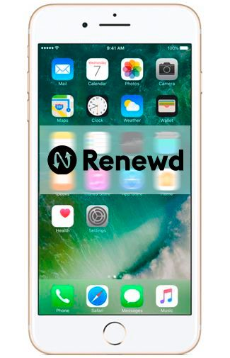 Productafbeelding van de Apple iPhone 7 Plus 32GB Gold Refurbished