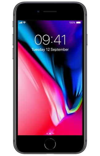 Productafbeelding van de Apple iPhone 8 128GB Black