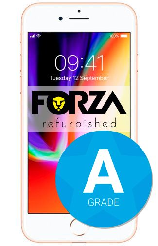 Productafbeelding van de Apple iPhone 8 64GB Gold Refurbished