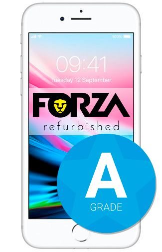Productafbeelding van de Apple iPhone 8 64GB Silver Refurbished