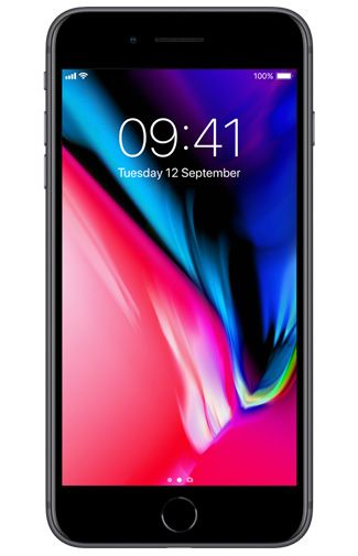 Productafbeelding van de Apple iPhone 8 Plus 256GB Black