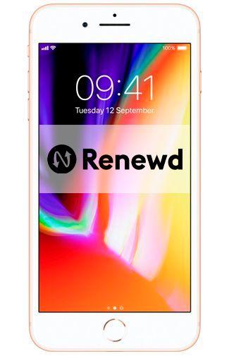 Productafbeelding van de Apple iPhone 8 Plus 64GB Gold Refurbished