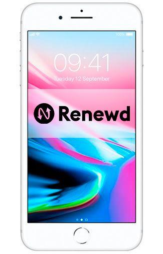 Productafbeelding van de Apple iPhone 8 Plus 64GB Silver Refurbished
